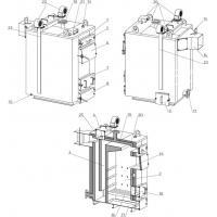 Твердотопливный котел длительного горения УкрТермо 45-600кВт Серія 300М
