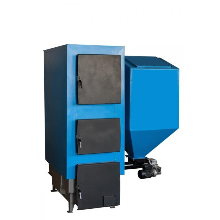Твердотопливный котел 50 кВт с автоподачей
